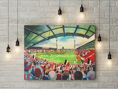griffin park  canvas a3 size
